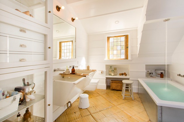 17 Astonishing Industrial Bathroom Designs You Won't Regret Seeing