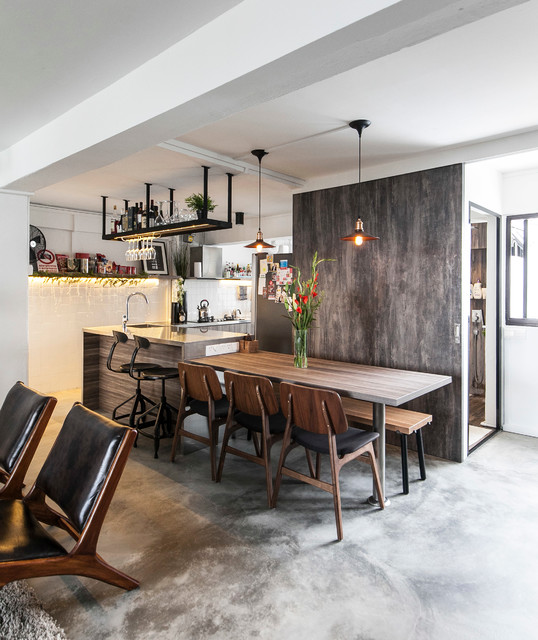 17 Dazzling Industrial Dining Room Interior Designs That ...