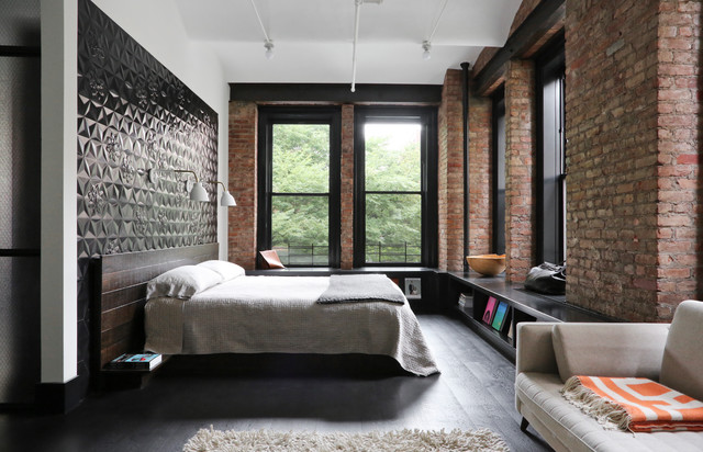 Exceptionnel 17 Incredible Industrial Bedroom Interior Designs For Your Daily Inspiration