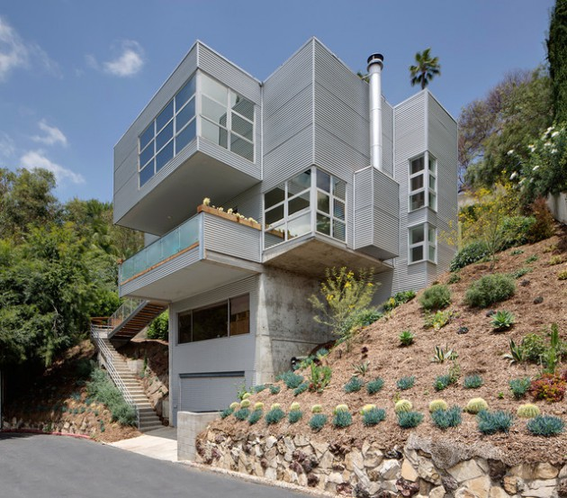17 Outstanding Industrial Home Exterior Designs You'll Be Amazed Of