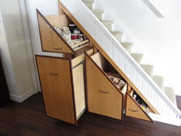 20 Smart Under Stairs Design Ideas: 20 Super Practical Extra Storage Ideas With Using Under