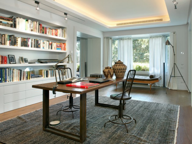 18 Exceptional Industrial Home Office Designs That Will Boost Your Productivity At Home