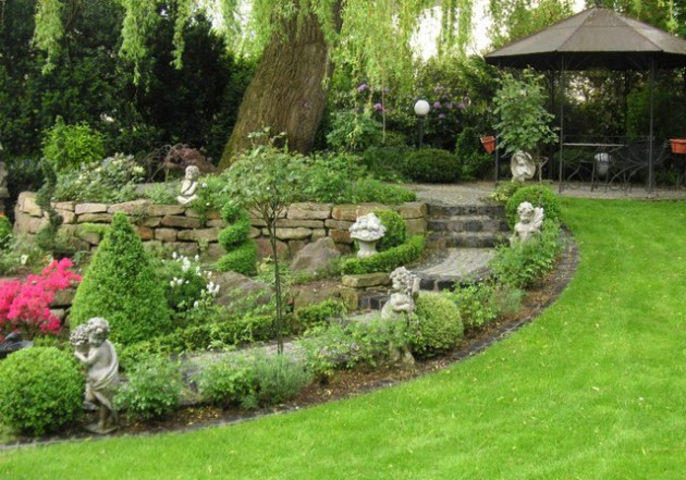 18 Mesmerizing Traditional Landscape Designs For A Fairy