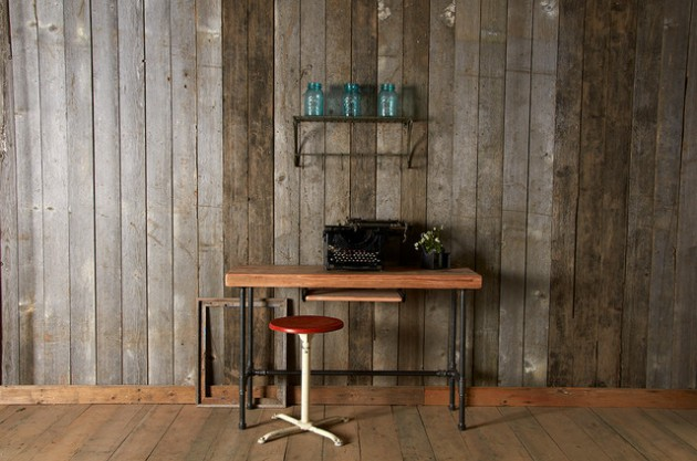 20 Gorgeous Interior Designs With Reclaimed Wood For Pleasant Feel