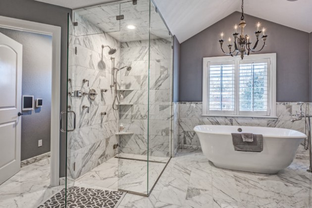 19 Unforgettable Transitional Bathroom Interiors For A Touch Of Elegance In Your Home