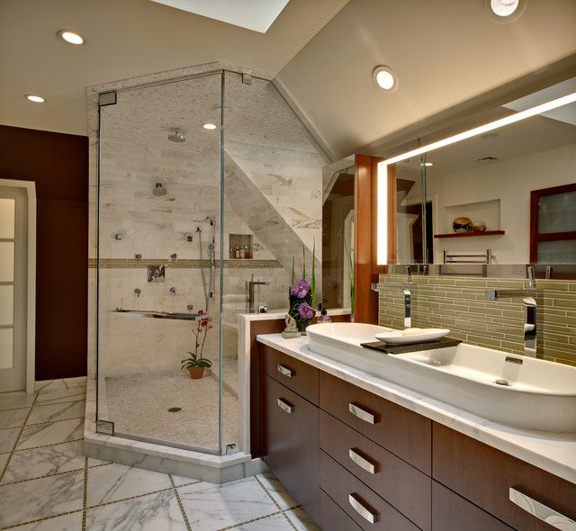 Bathroom Interiors Prepossessing Unforgettable Transitional Bathroom Interiors For A Touch Of Decorating Design