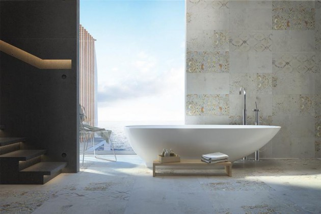 15 High Stylish Bathrooms With Art Pieces That Will Boost Your Motivation