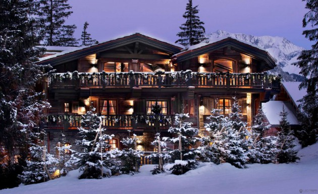 Top 5 Of The Most Magnificent Luxury Ski Chalets For The Ultimate Enjoyment
