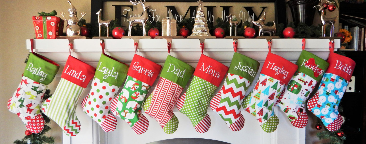 20 handmade christmas stocking ideas that will make great festive decorations - Christmas Stocking Decorating Ideas