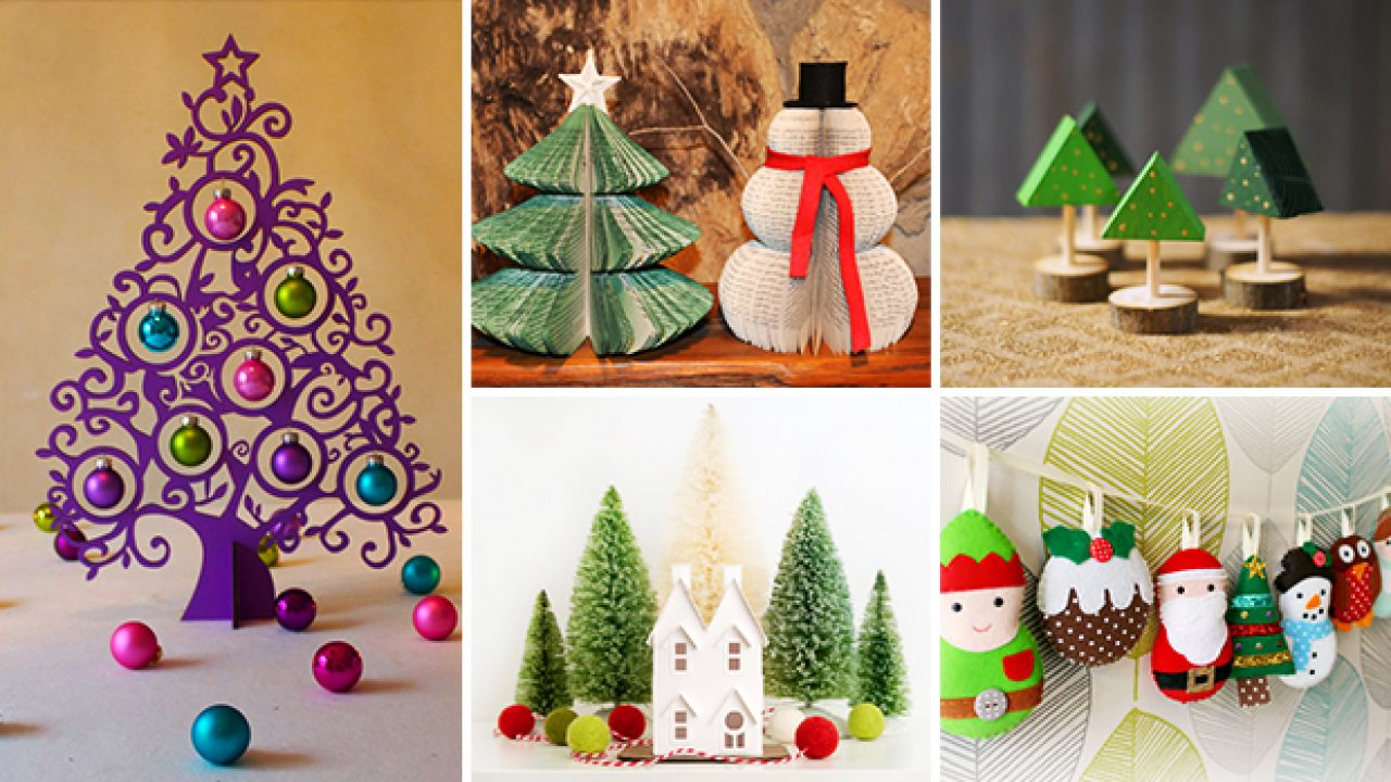 21 Whimsical Handmade Christmas Decorations You Can Diy This