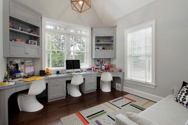 18 Dreamy Study Space Designs For Your Children