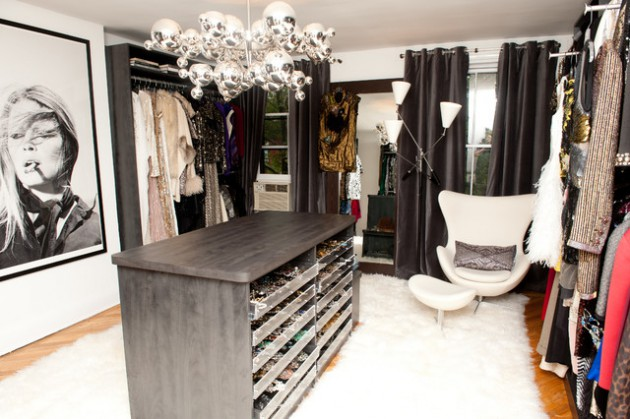17 Brilliant Feminine Walk In Closets That Are Dream Of Every Woman