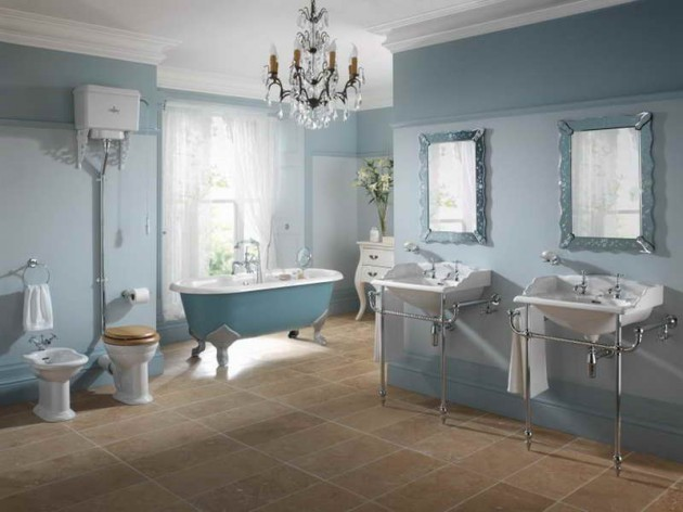 Shabby Chic Style In Your Bathroom