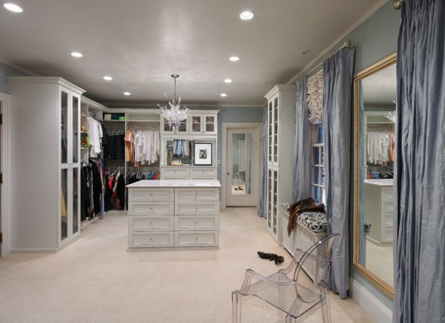 17 Brilliant Feminine Walk In Closets That Are Dream Of