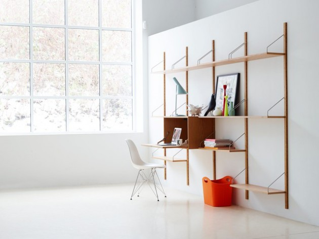 17 Scandinavian Home Office Designs That Abound With Simplicity & Elegance