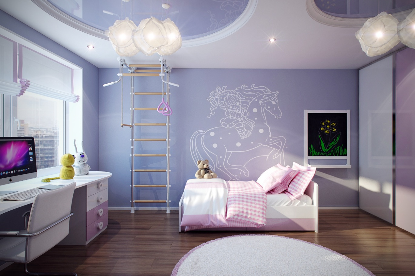 15 Adorable Purple Child's Room Designs That Will Be ...