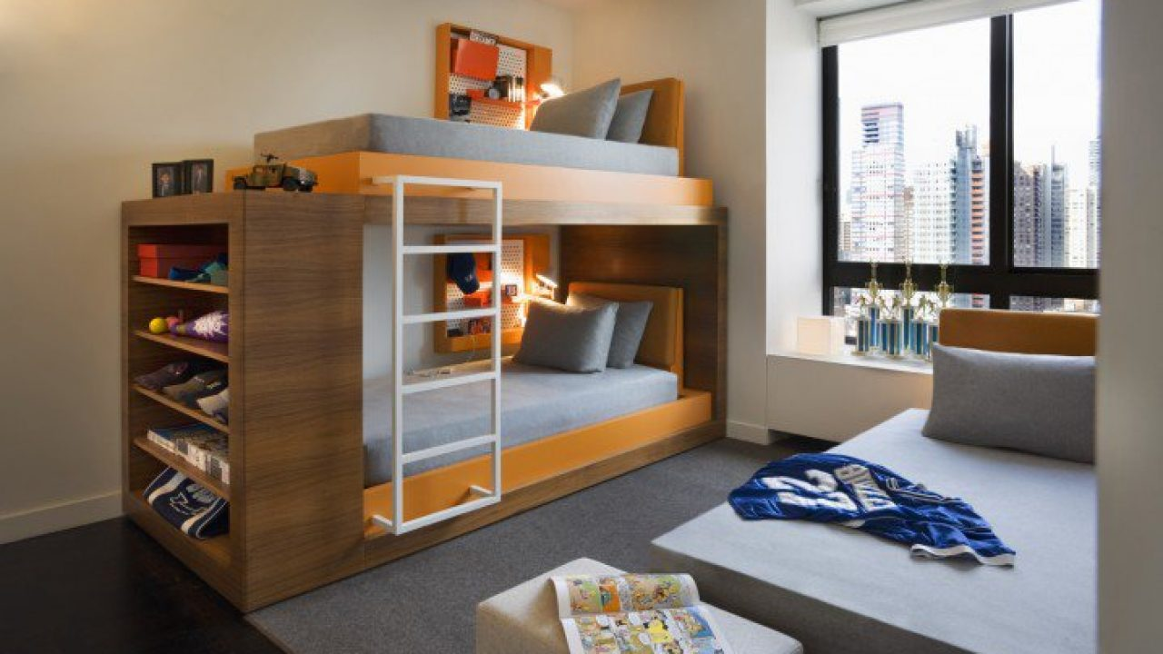 18 Irresistible Modern Bunk Bed Designs That Will Save Space ...