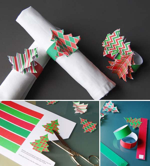 15 Most Easiest DIY Christmas Napkins To Adorn Your Christmas Table