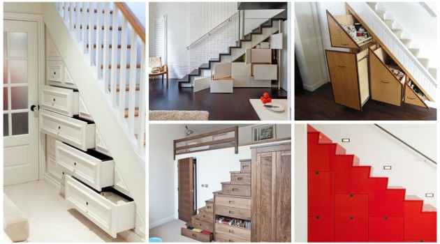 20 Super Practical Extra Storage Ideas With Using Under-The-Stairs Drawers