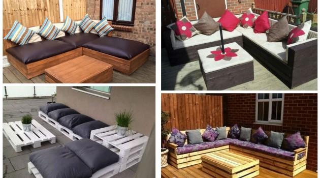 17 Most Creative Ideas To Make Cozy Pallet Corner Sofa