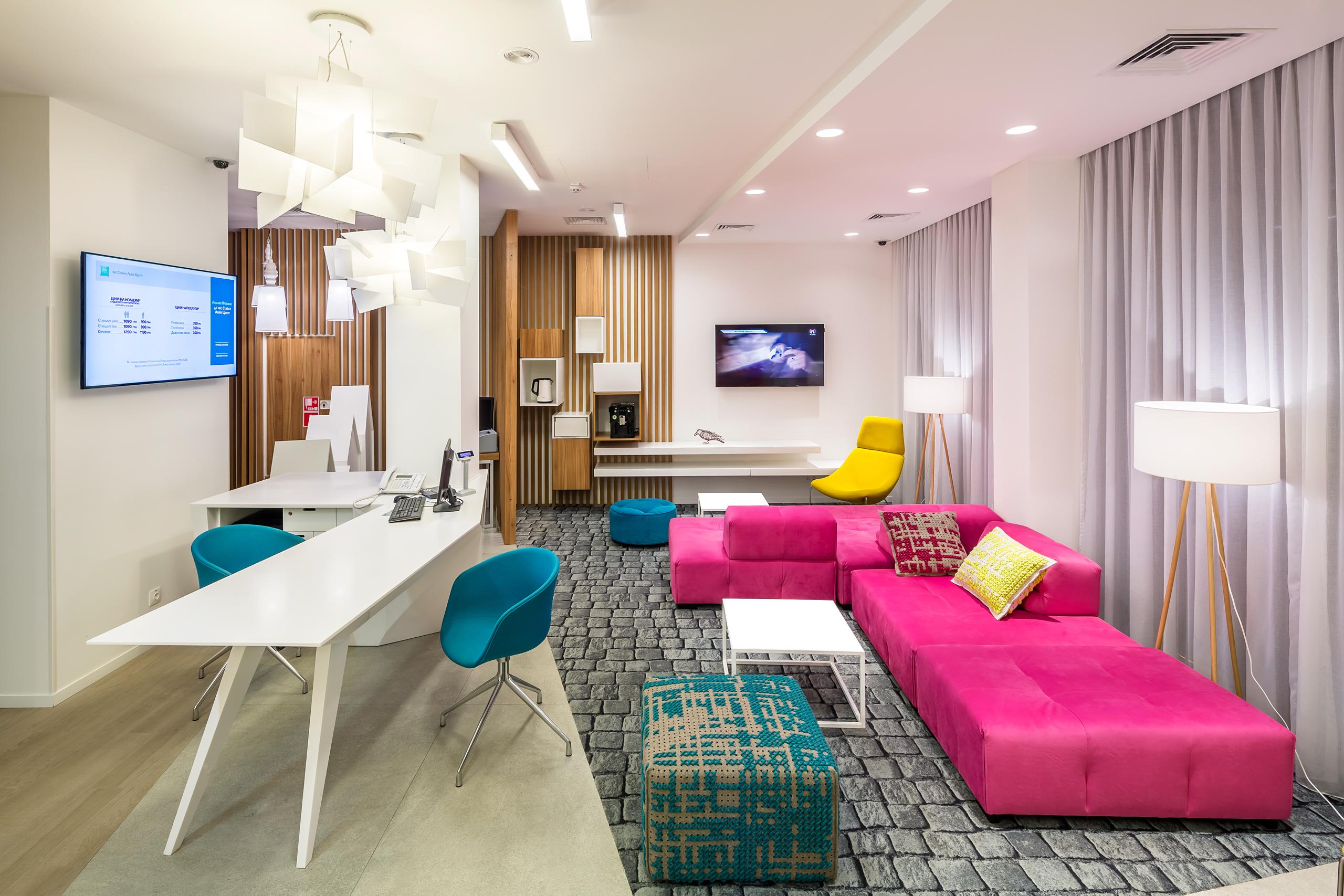 Ibis styles hotel ec 5 architects lviv ukraine for Architects and interior designers