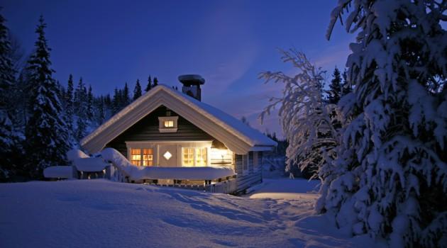 Snowbound Cottage