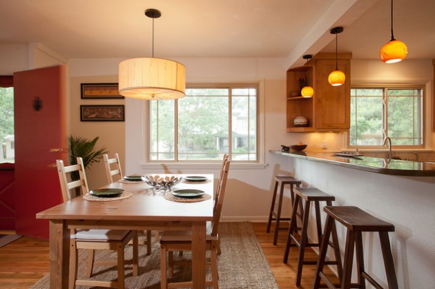 16 Efficient Solutions For Decorating Kitchen With Dining Table