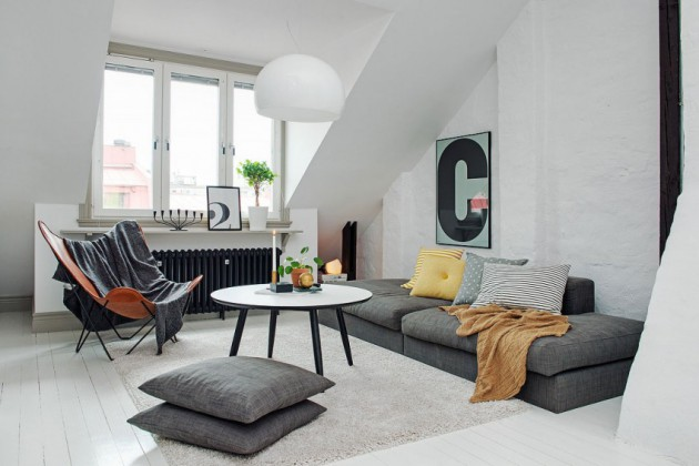 16 Marvelous Scandinavian Living Rooms That Abound With Simplicity