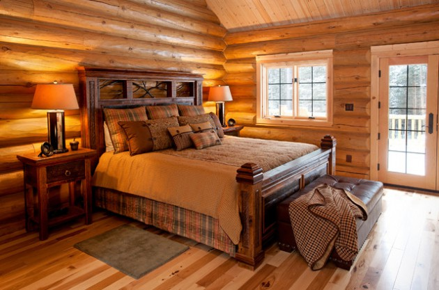 17 Brilliant Rustic Style Bedrooms That Ideal For Your