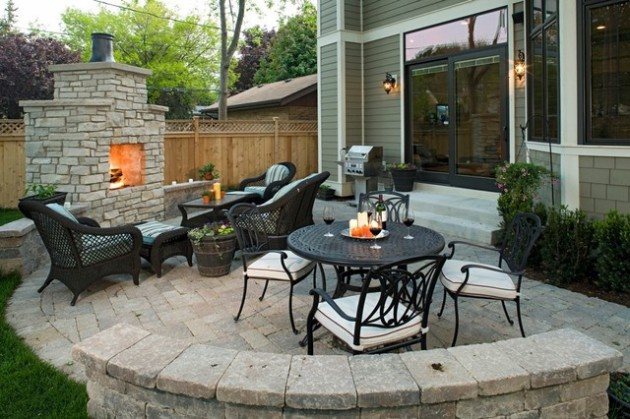 cute big ideas for decorating small patio - Decorate Small Patio