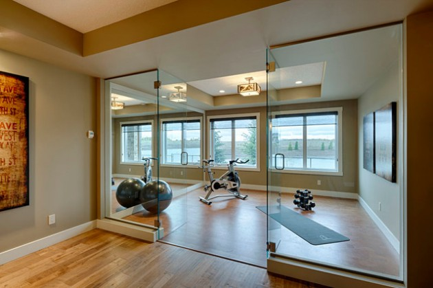 19 Practical Ways To Decorate Exercise Room In The Home