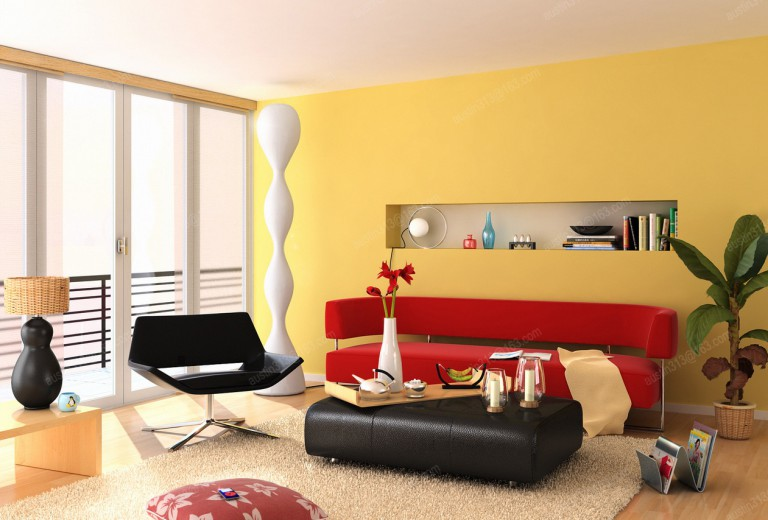 Теплые цвета дизайн
