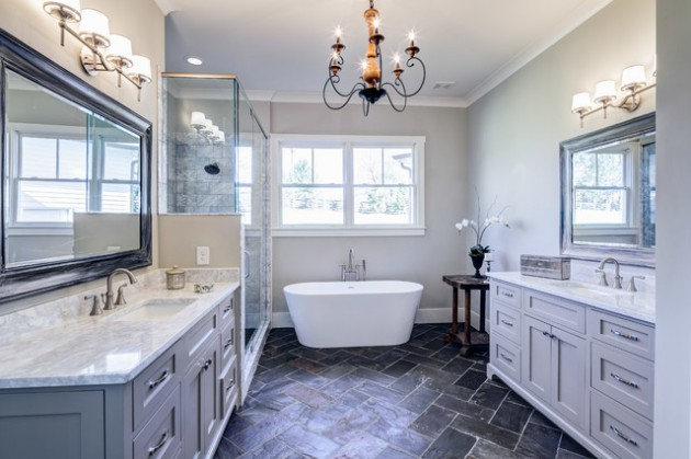 17 Gorgeous Master Bathroom Designs That Will Impress You - Master-bathrooms