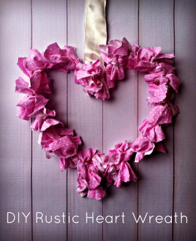 17 Fabulous DIY Valentine's Day Wreath Designs To Adorn Your Front Door