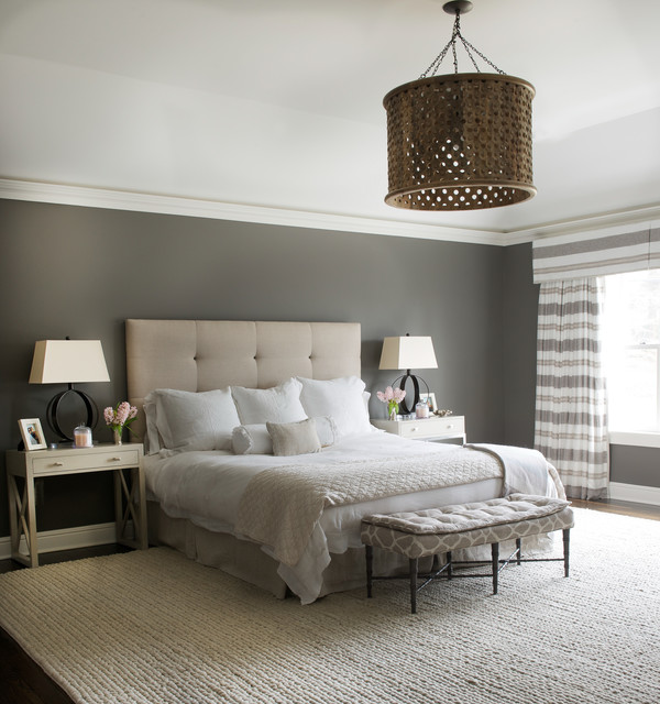 Bedroom Pretty Bedroom Design By California King Storage: 19 Beautiful Bedroom Designs With Grey Walls