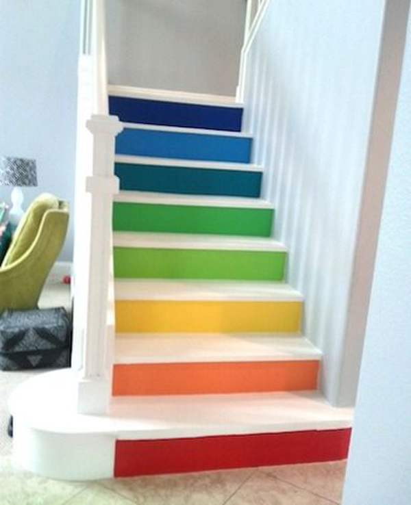 17 Brilliant Rainbow Interior Designs For All Those Who Think Outside The Box