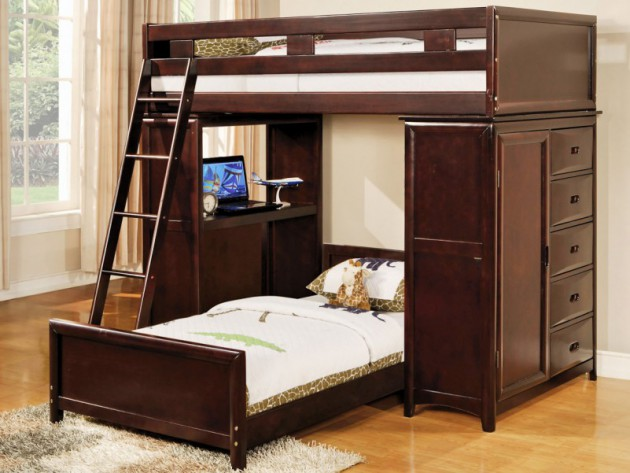17 Marvelous Space-Saving Loft Bed Designs Which Are Ideal For Small Homes