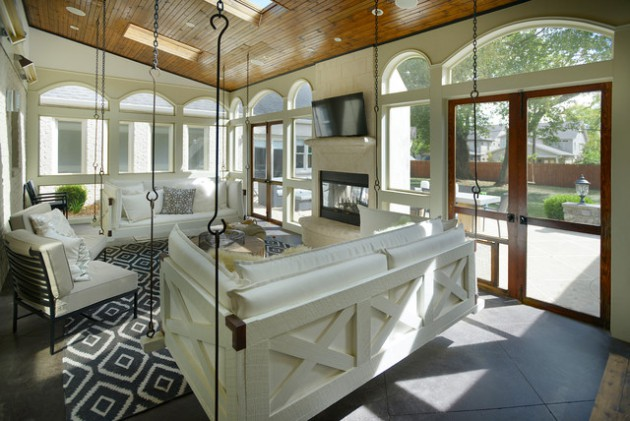 15 Breathtaking Transitional Porch Designs Youll Fall In Love With