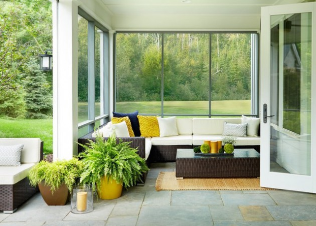 15 Breathtaking Transitional Porch Designs You'll Fall In Love With