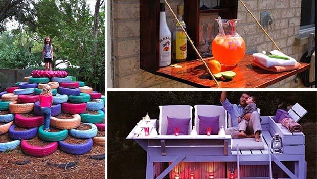 Awesome Diy Backyard Ideas : 15 Brilliant DIY Ideas For An Awesome Backyard