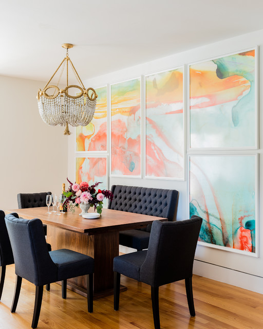 N Style Designs On Transitional Design: 15 Chic Transitional Dining Room Interior Designs Full Of