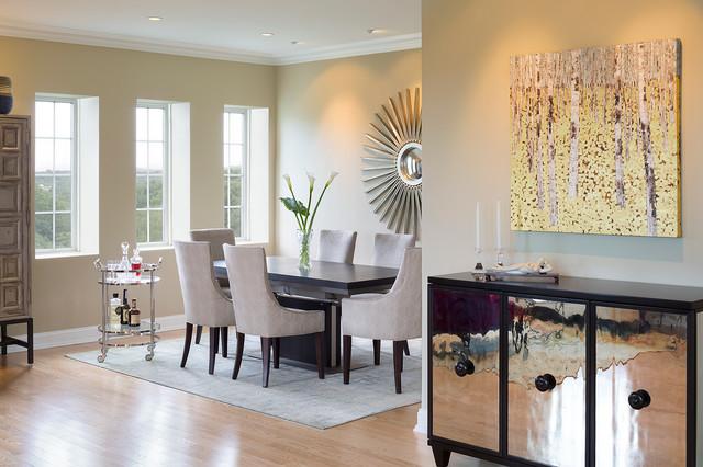 Chic Transitional Dining Room Interior Designs Full Of Ideas