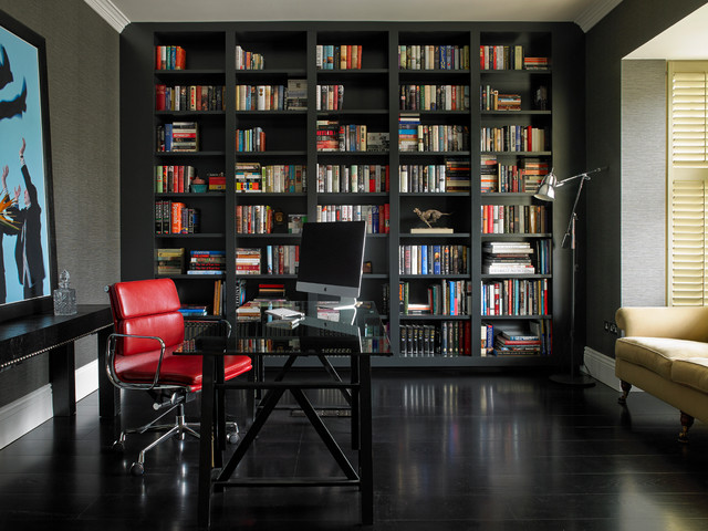 Transitional Home Office elegant transitional home office designs to motivate you