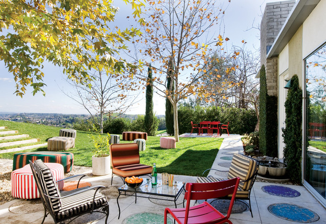 15 fascinating eclectic patio designs for the best outdoor enjoyment - Best Patio Designs