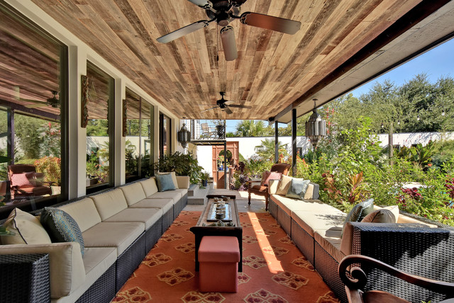 15 Fascinating Eclectic Patio Designs For The Best Outdoor ...