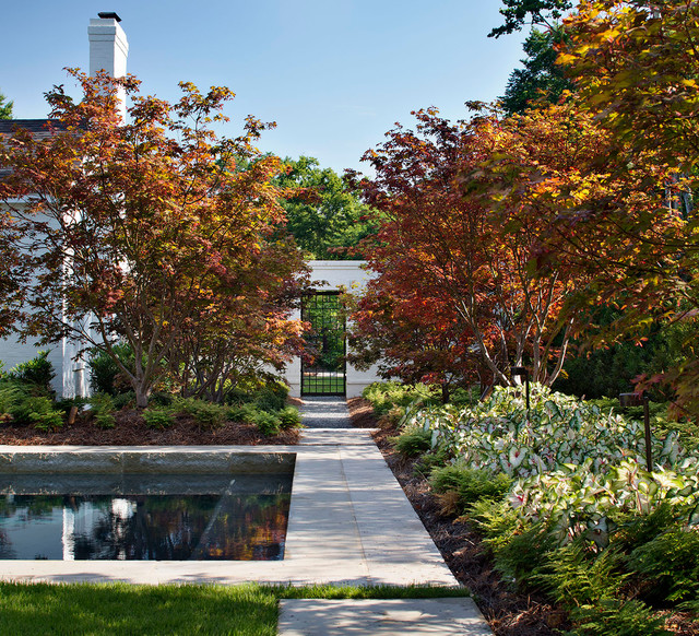 15 Wonderful Transitional Landscape Designs For A Heavenly