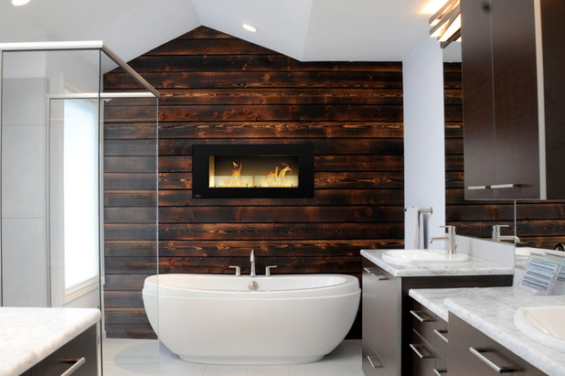 17 Charming Bathroom Designs With Wooden Elements For Cozy Atmosphere