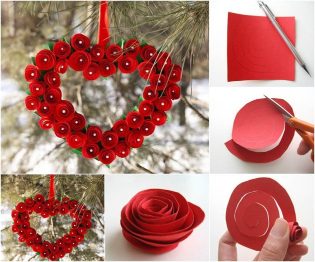 17 Fabulous Diy Valentine S Day Wreath Designs To Adorn Your Front Door