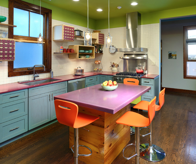 16 Amazing Eclectic Kitchen Designs You Won 39 T Hesitate To Cook In