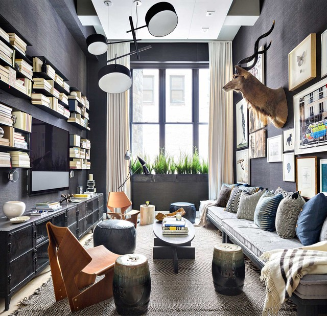 16 Sophisticated Rustic Living Room Designs You Won T Turn: 16 Fabulous Eclectic Living Room Designs That Will Inspire
